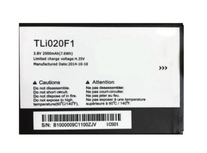 Bateria Alcatel 5010/ 5045/ 7040 TLI020F1