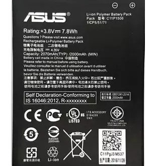 Bateria Asus Zenfone ZB452KG GO MINI B11P1428