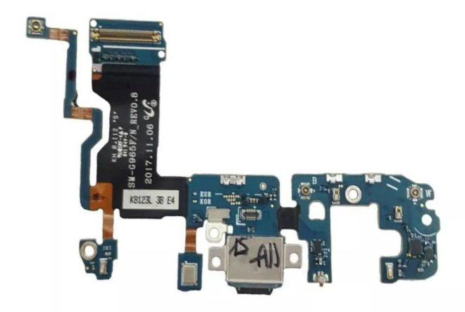 Flex Conector De Carga Samsung S9 G960