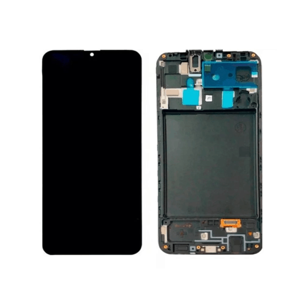 Display Frontal Touch Lcd Samsung Galaxy A20 A205 Original Nacional Com Aro