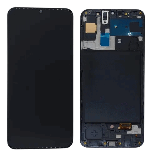 Display Frontal Touch Lcd Samsung Galaxy A30s A307 Original com Aro