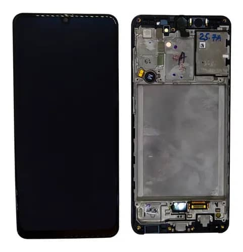 Display Frontal Touch Lcd Samsung Galaxy A31 A315 Original com Aro