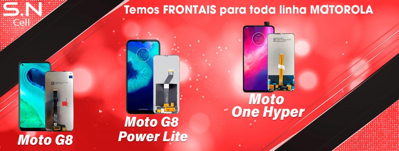 peças para celulares moto g8 power lite one hyper