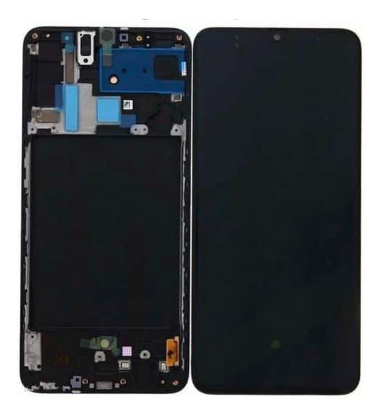 Display Frontal Touch Lcd Samsung Galaxy A70 A705 Com Aro Incell