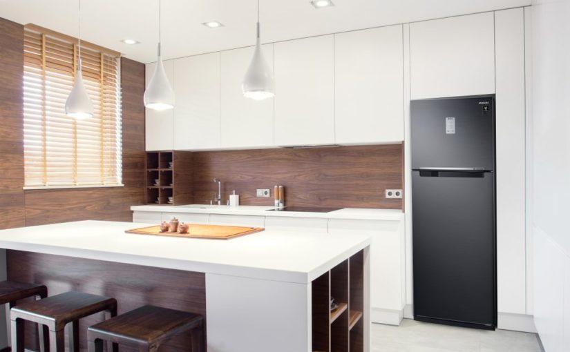 Com design atemporal e minimalista, linha de geladeiras Evolution da Samsung atende diversos tipos de cozinhas