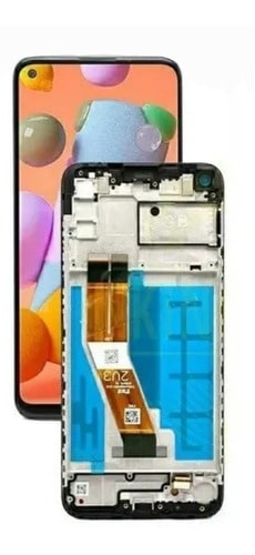 Display Frontal Touch Lcd Samsung Galaxy A11 A115 C/aro